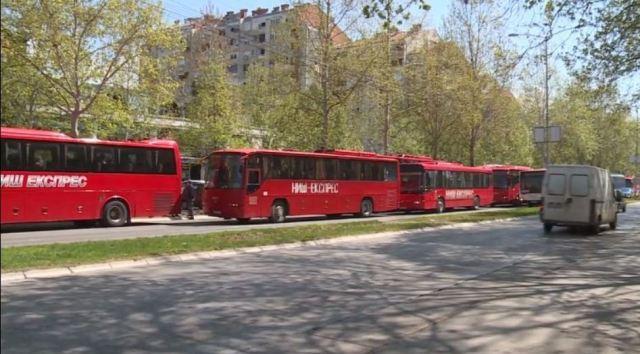 Autobusi, Bulevar Nemanjića; Foto: Novinari Online