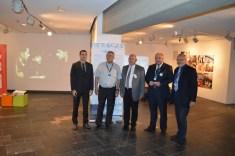 Фајгељ и Пастор са европским званичницима у НС павиљону