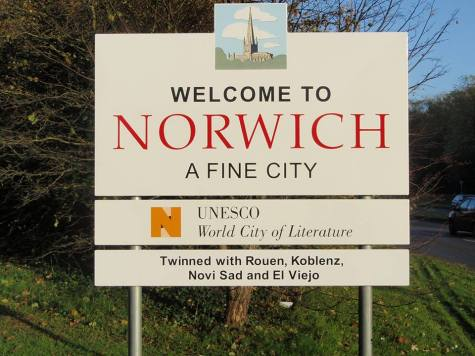 Добродошли у Норич