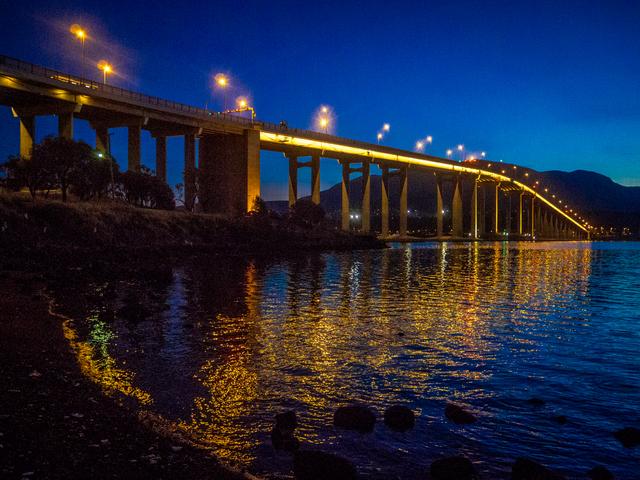 Hobart's Tasman Bridge