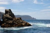 Looking south to Tasman Island