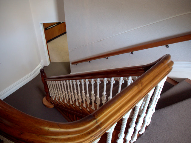 Main staircase in Hobart's General Post Office