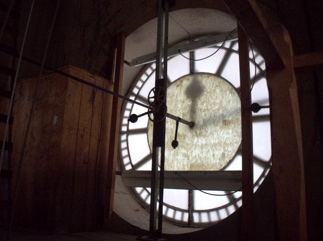 Inside Hobart's GPO Clocktower