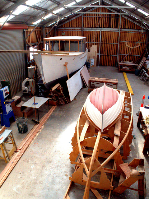 Workshop at the Wooden Boat Centre