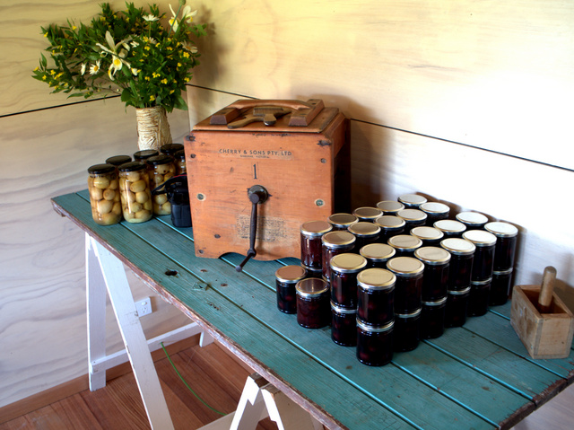 Preserves for sale at Fat Pig Farm