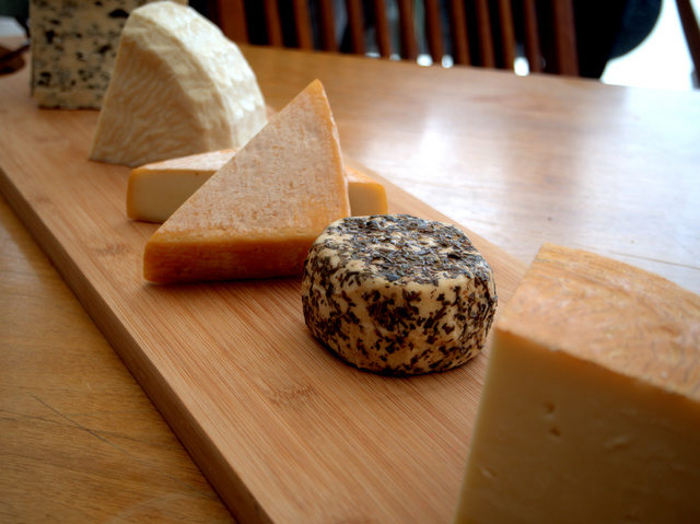 The finished product at Grandewe Cheeses