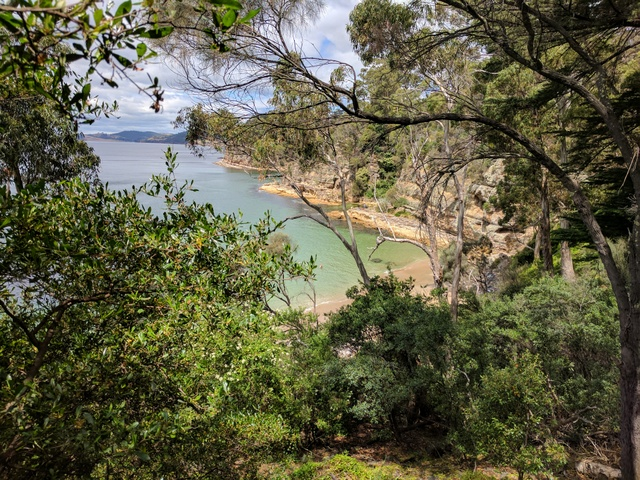 Boronia Beach is a hidden gem around the headland from Kingston Beach only accessible via a walking track