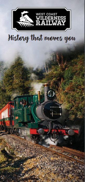 West Coast Wilderness Railway marketing brochure