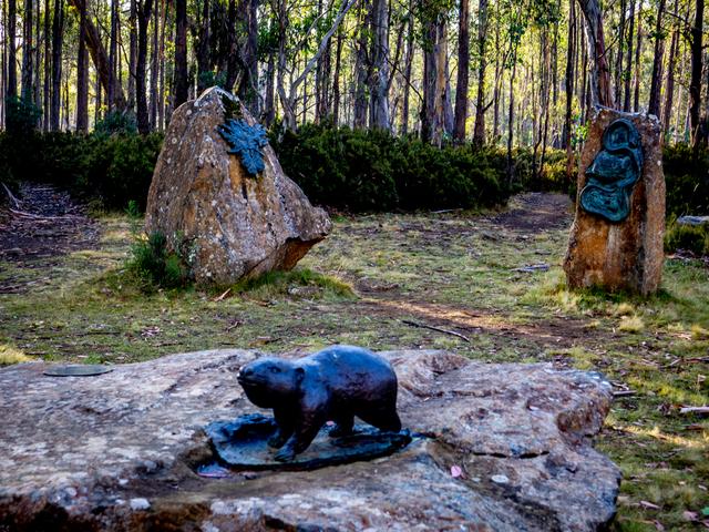 Steppes Sculptures by Stephen Walker