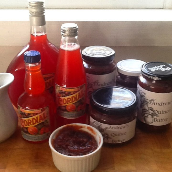 More quince produce, including paste, jelly and cordial