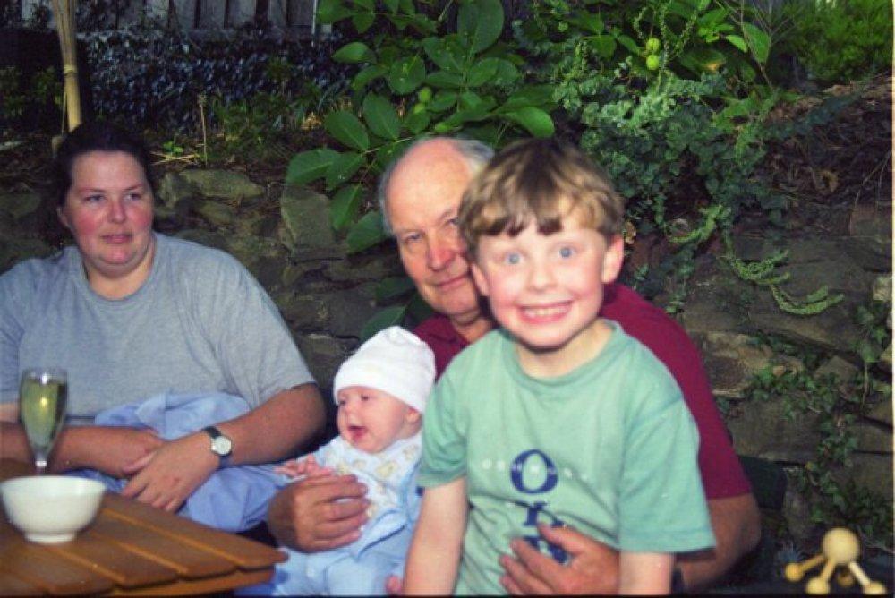 Kiri, Harriette, Dad, Alex