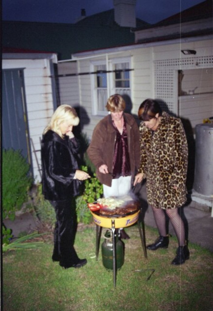 Hubble, bubble, boil and trouble.... incantations around the barbecue, NYE circa 1997