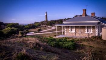 Lighthouse keepers' cottage at larapuna / Eddystone Point, Bay of Fires, NE Tasmania