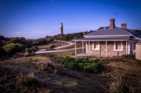 Lighthouse keepers' cottage at larapuna / Eddystone Point, Bay of Fires, NE Tasmania
