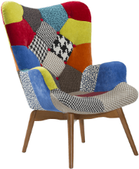 Panton Upholstered Dining Chair