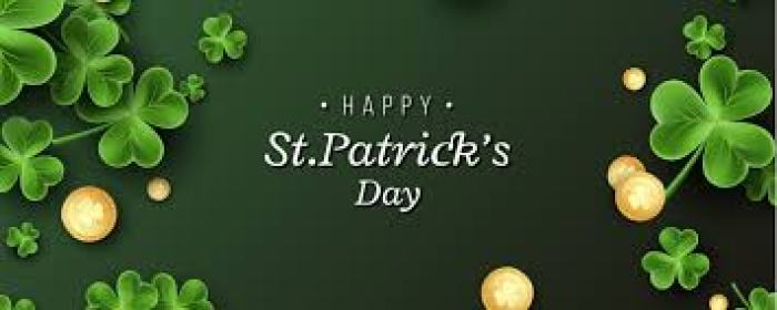 March header St. Patricks day - Make Your Meals