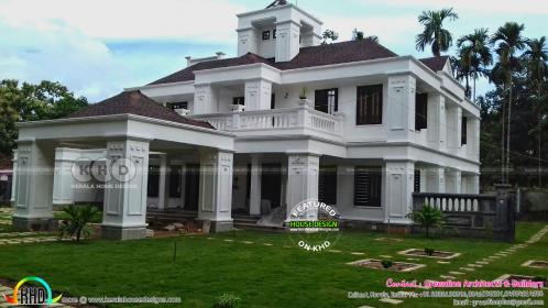 bedroom kerala bungalow plans story colonial indian models floor finished sq 99homeplans latest ft houses area storey facility total porch