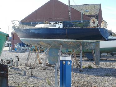 Shockwave40: Unknown IOR 3/4 ton yacht ( possibly 1/2