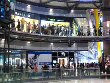 barcelona shopping las arenas mall malls places inside stores centers outlets shops center catalonia
