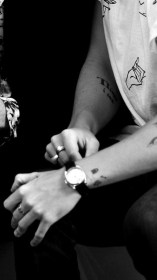 Harry Styles One Direction Black and White iphone request