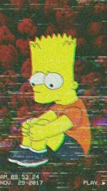 sad wallpapers simpsons trippy phone backgrounds done request 1280