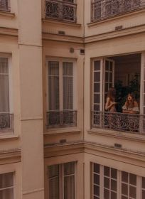 aesthetic beige brown paris moodboard richmond balcony belles femmes extravert ravenclaw france outfits architecture