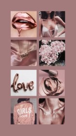 rose wallpapers aesthetic iphone pink backgrounds rosegold pretty rosa pantalla fondo dusty collage oro pastel marble lockscreen makeup aesthetics phone