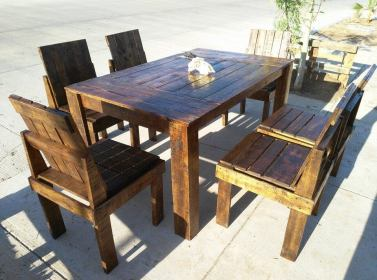 pallet table dining chairs wooden pallets outdoor tables wood kitchen furniture chair amazing 99pallets diy arm
