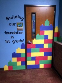 classroom decoration excellent community diy recycled newspaper craft temple
