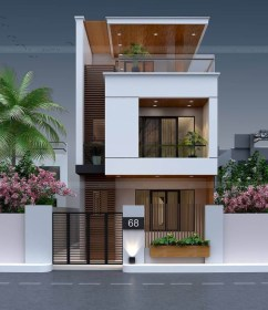 casas future dos pisos exterior rumah fachadas terraza narrow engineering elevation minimalis houses planos balassa 2d desain lantai discoveries architecture