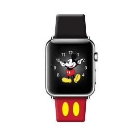 apple band mickey strap 42 designer mm print series 38mm leather 42mm bands case mouse inspired shots ultracase disney houndstooth