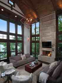 rustic modern lake lodge living homes bluff decor georgia architecture rooms construction building houzz remodel simple under save email atlanta