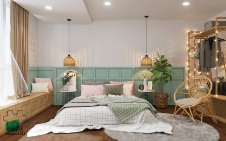 bedroom mint decorating bedrooms aesthetic paint half way yours help visualizer colour another anime inspiradores quartos casal os lai phap