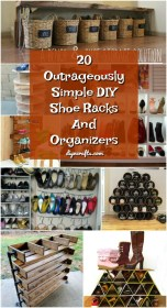 shoe diy racks simple organizers rack storage closet homemade shoes outrageously want today organizer ll shelves diyncrafts organization closets own