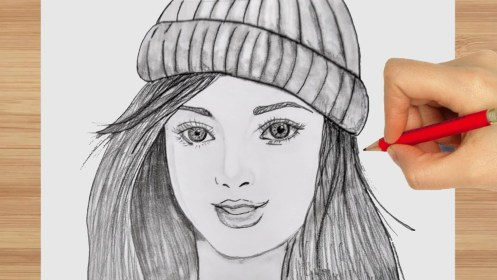 pencil drawing sketch draw beginners