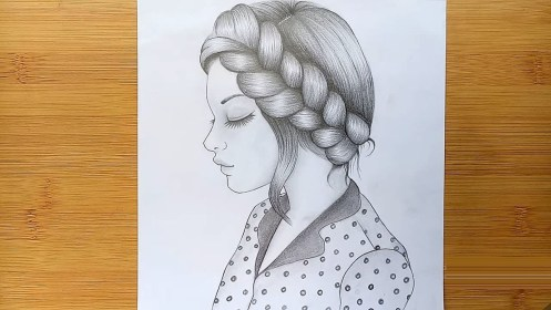 pencil draw sketch step hairstyle bizimtube enable javascript please