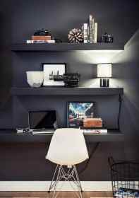 teenage boys designs shelves bedroom floating rooms cool desk homesthetics space guys brilliant interior boy grey modern office defined authenticity