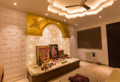 Interior Design for Pooja Room Wall Units Indian Pooja
