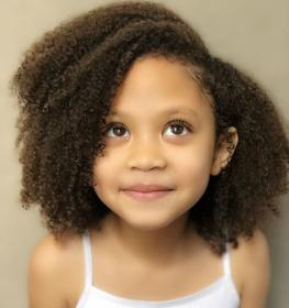Mixed Girl Curly Hairstyles Novocom Top