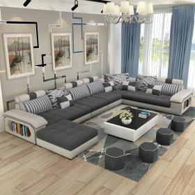 sofa living furniture modern corner sectional luxury shaped couches fabric sofas