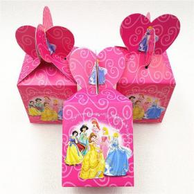 party candy princess birthday jasmine bags theme boxes supplies 6pcs 1st zoom gift
