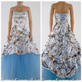 camo sky prom tree camouflage gowns draped bridal dresses lace satin tulle snowfall plus special weddings sweetheart dhgate