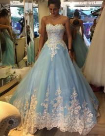 dresses gown bridal gowns vestido ball lace tulle sweetheart princess noiva weddings robe china aliexpress