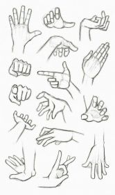 anime draw hand gestures sketch drawings step easy tutorial pencil different according characters age height
