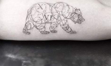 These Geometric Tattoos By Dr Woo Are Amazing