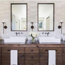 bathroom farmhouse modern master remodel cool amazing styles different match