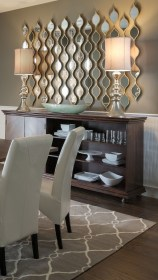 mirrors modern dining rooms intended mirror