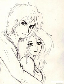 pencil drawing easy sketches boy cartoon couple drawings simple getdrawings sketch draw anime couples nice wallpapers clipart paintingvalley