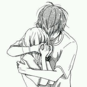 sad anime boy drawing drawings sketch hug lonely couple hugging crying getdrawings sketches couples cartoon emo dibujos pencil aesthetic paintingvalley