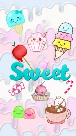kawaii wallpapers cute phone iphone sweet background ice cream backgrounds food resolution hd fondo fondos rainbow wallpaperaccess pantalla spencer ewan